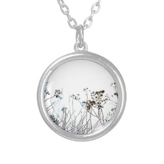 Flower Wildflowers Silver Plated Necklace