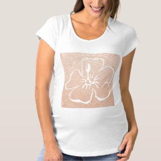 FLOWER with Golden Base Maternity T-Shirt