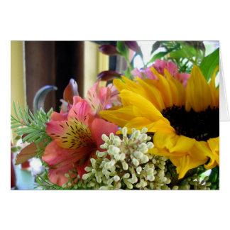 Flowered Notecards Card