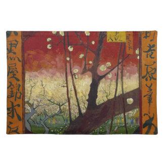 Flowering plum tree Placemat