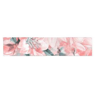 flowers2bflowers and birds pattern #flowers short table runner