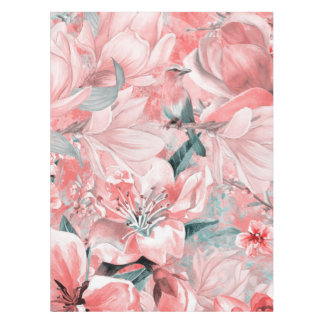 flowers2bflowers and birds pattern #flowers tablecloth