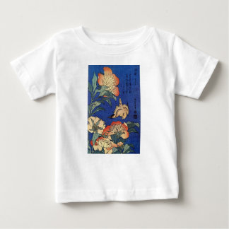 Flowers and a Bird Baby T-Shirt