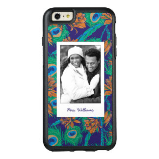 Flowers And Feathers | Add Your Photo & Name OtterBox iPhone 6/6s Plus Case