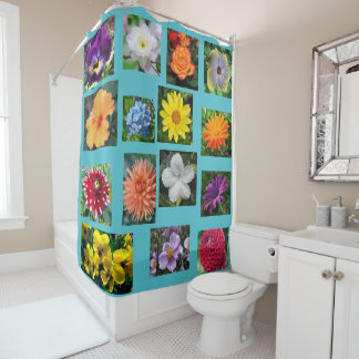 Flowers and Flowers Shower Curtain