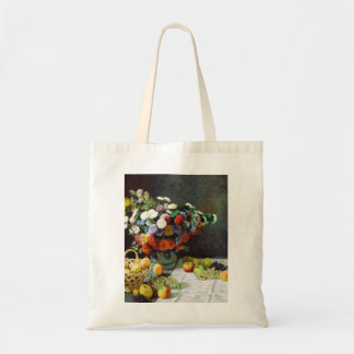 Flowers and Fruit, 1869  Claude Monet Tote Bag