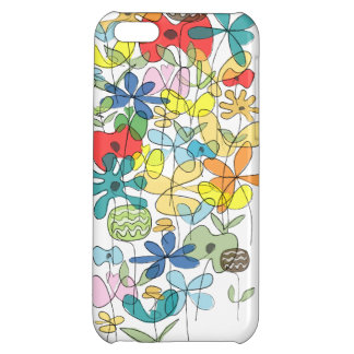 Flowers collage iPhone case