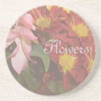 Flowers Floral Decor Soft Decorative Coasters