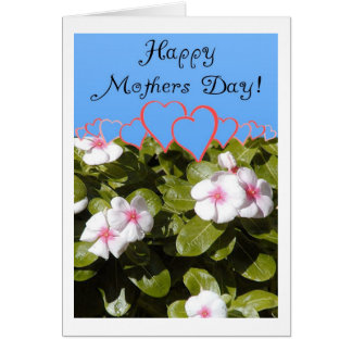 Flowers & Hearts Card