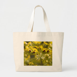 flowers in the garden large tote bag