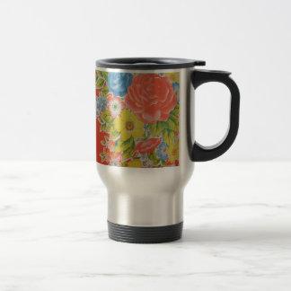 flowers kitch kitchen style mug