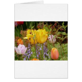 Flowers Of Tenderness Greeting Card