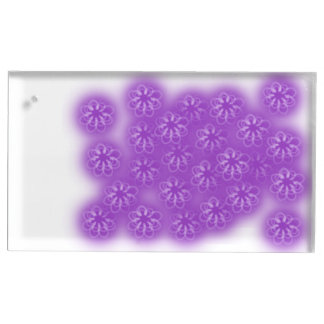 flowers table card holder