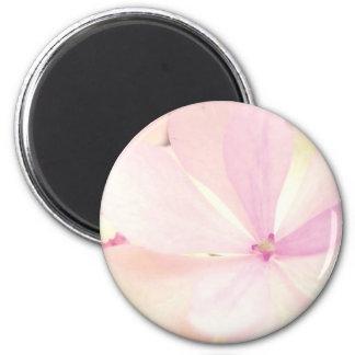 Flowers tenderness 6 cm round magnet
