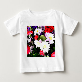 Flowers - Watercolor Baby T-Shirt