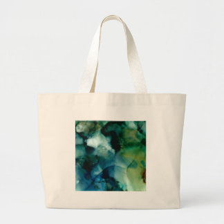 Flowing Abstract Design Large Tote Bag
