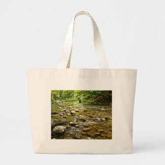Flowing Stream Large Tote Bag