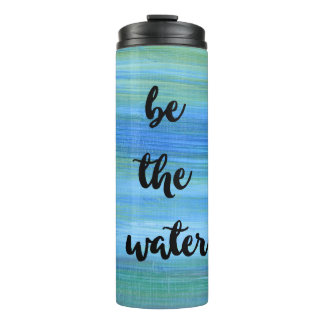 Flowing Water Zen Mindfulness Thermal Tumbler