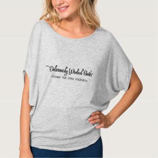 Flowy Short Sleeve Ladies Top Shirt
