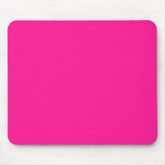 Fluorescent Pink Mouse Pad