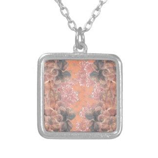 Flurg Square Pendant Necklace
