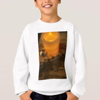 Flute Candle Notation Sweatshirt
