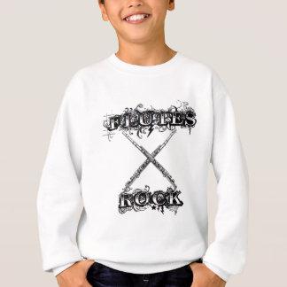 Flutes Rock! Sweatshirt