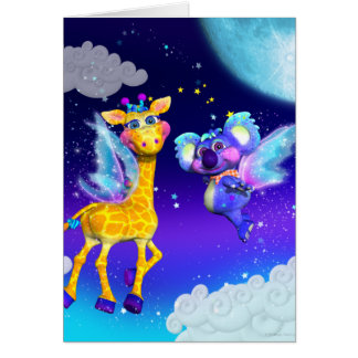 Fly Away With Me Note Card
