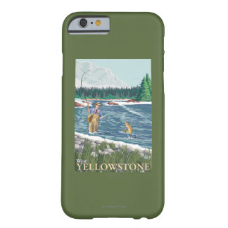 Fly Fisherman - West Yellowstone, Montana Barely There iPhone 6 Case
