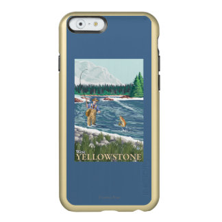 Fly Fisherman - West Yellowstone, Montana Incipio Feather® Shine iPhone 6 Case