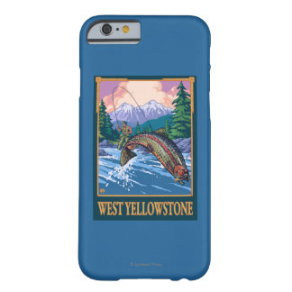 Fly Fishing Scene - West Yellowstone Barely There iPhone 6 Case
