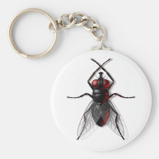 Fly Insect Key Ring