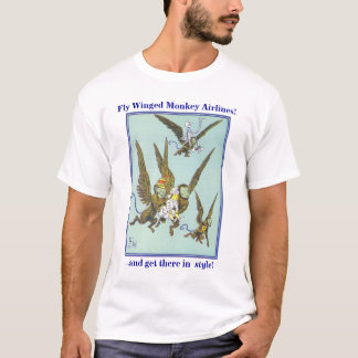 Fly Winged Monkey Airlines T-Shirt