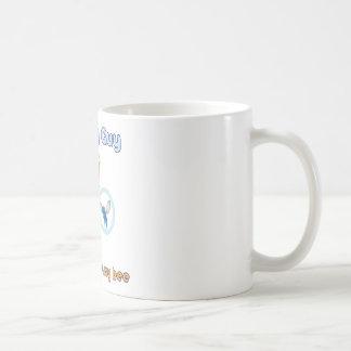 Fly with Bee Design Coffee Mug