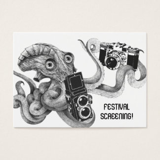 Flyer Hype Film Octopus Camera Film Screening V2