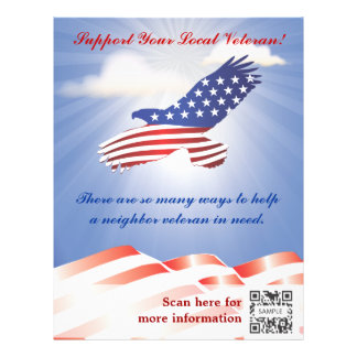 Flyer Template Veterans