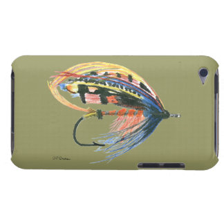 FlyFishing Lure Art Salmon Fly Lure Barely There iPod Covers