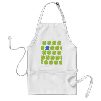 Flying Android Blue Standard Apron