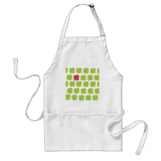 Flying Android Red Standard Apron