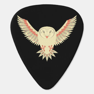 Flying Barn Owl Plectrum