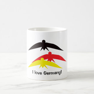 Flying Birds in German Colours Mug