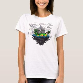 Flying castle shirt