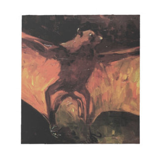 Flying Fox by Vincent van Gogh Notepad