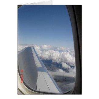 Flying High Card