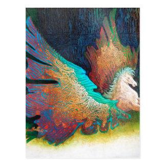 Flying Horse Postcard