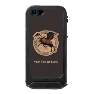 Flying Moose Aviation Patch Incipio ATLAS ID™ iPhone 5 Case