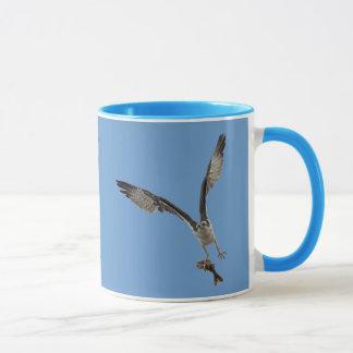 Flying Osprey & Fish 2 Wildlife Photography Mug