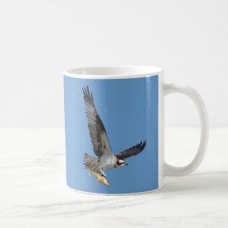 Flying Osprey & Fish Wildlife Photography Coffee Mug