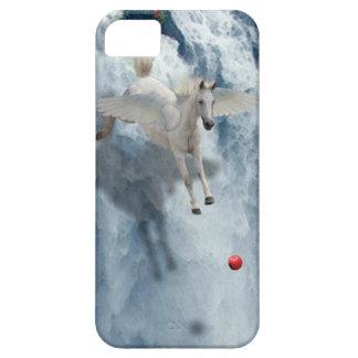 Flying Pegasus & Waterfall Fantasy Art Phone Case
