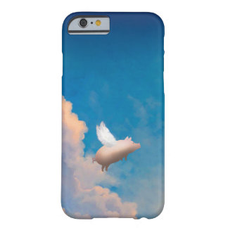 flying pig custom iPhone 6 case Barely There iPhone 6 Case